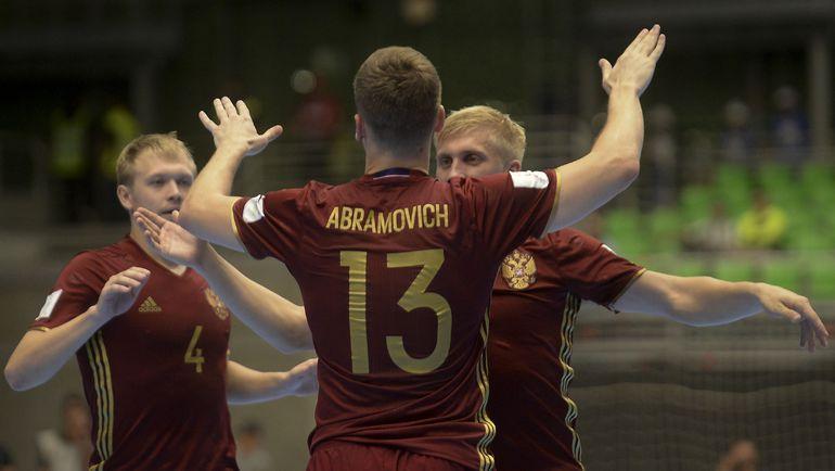 Сборная России вышла в четвертьфинал чемпионата мира. Фото AFP
