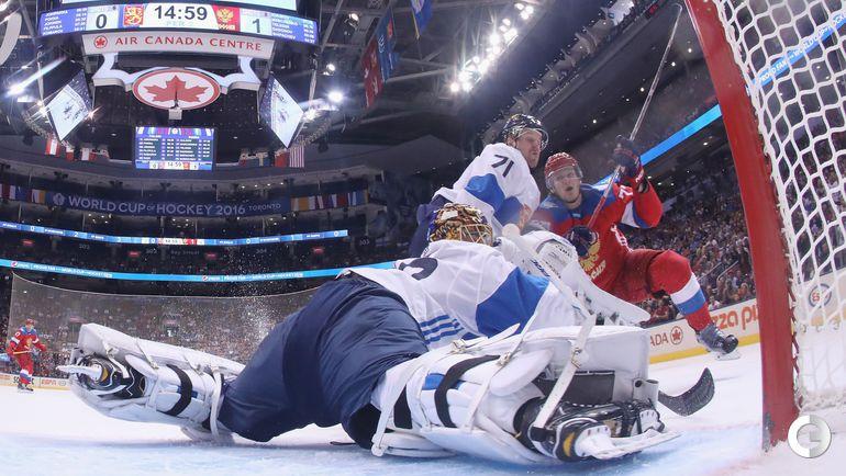 Четверг. Торонто. Россия - Финляндия - 3:0.