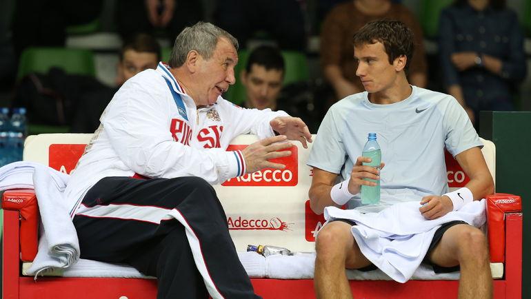 Шамиль ТАРПИЩЕВ и Андрей КУЗНЕЦОВ. Фото ТАСС
