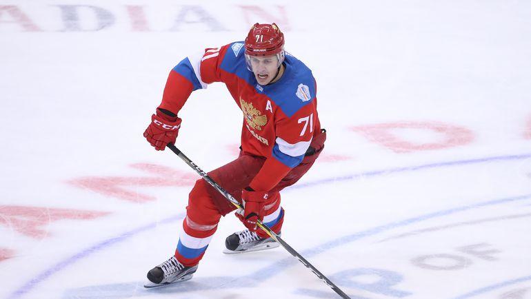 Евгений МАЛКИН. Фото REUTERS