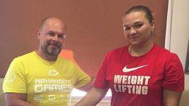 Сергей ЕРЕМИН и многократная чемпионка мира и Европы Татьяна КАШИРИНА.