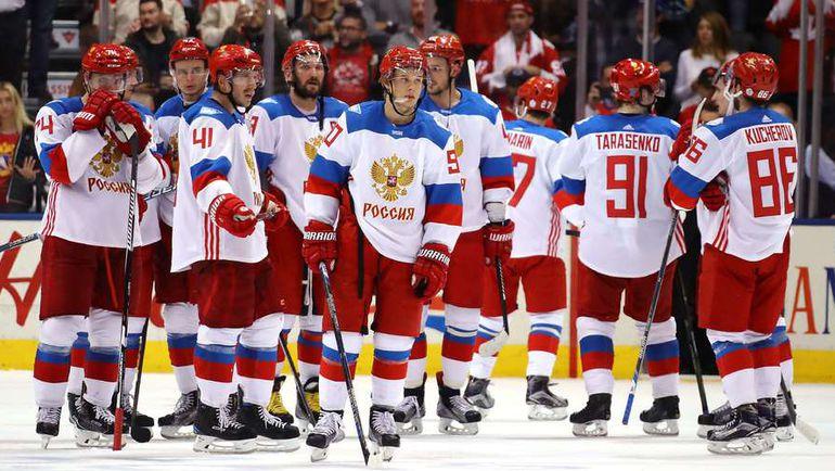 Суббота. Торонто. Канада - Россия - 5:3. Грусть национальной команды России. Фото AFP