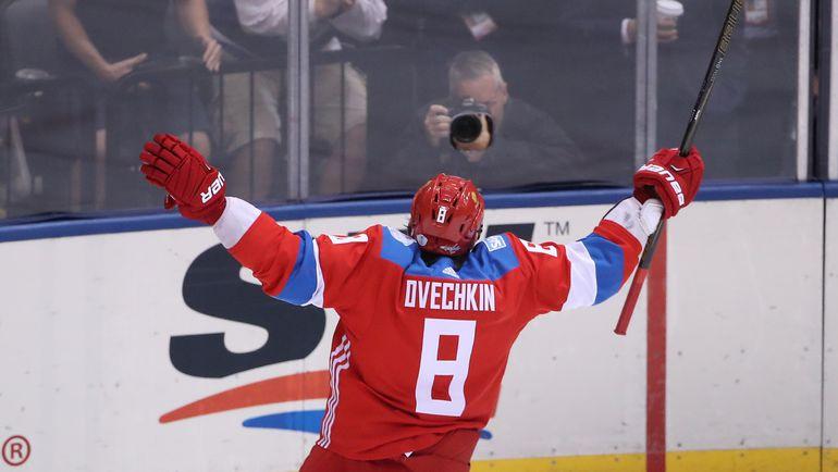 Капитан сборной России Александр ОВЕЧКИН. Фото AFP