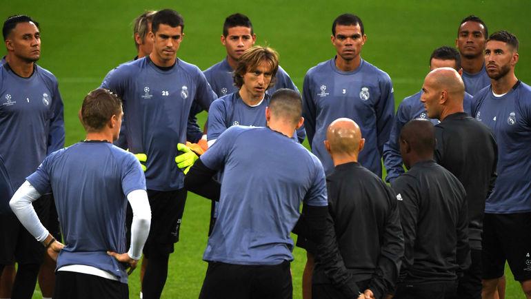 """Игроки """"Реала"""" готовятся к """"Боруссии"""", несмотря на конфликты в команде. Фото AFP"""