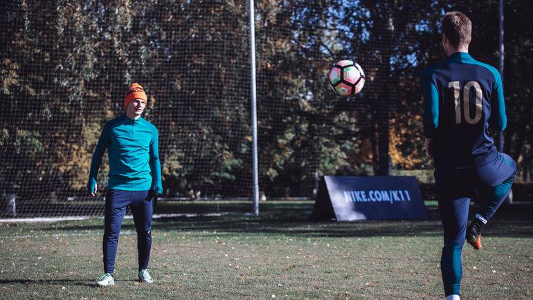 Андрей АРШАВИН. Фото news.nike.com