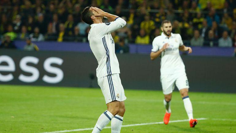 "Вторник. Дортмунд. ""Боруссия"" – ""Реал"" – 2:2. Эмоции КРИШТИАНУ РОНАЛДУ. Фото AFP"