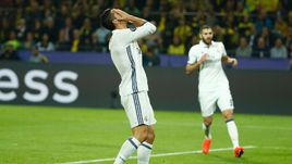 "Вторник. Дортмунд. ""Боруссия"" – ""Реал"" – 2:2. Эмоции КРИШТИАНУ РОНАЛДУ."