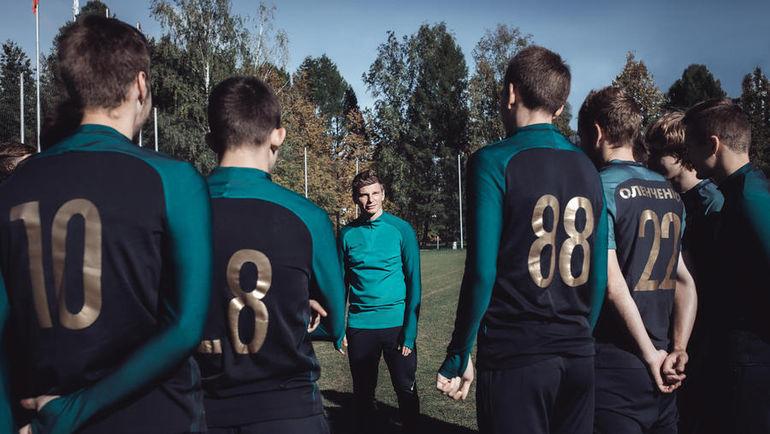 Андрей АРШАВИН. Фото Max AVDEEV, news.nike.com