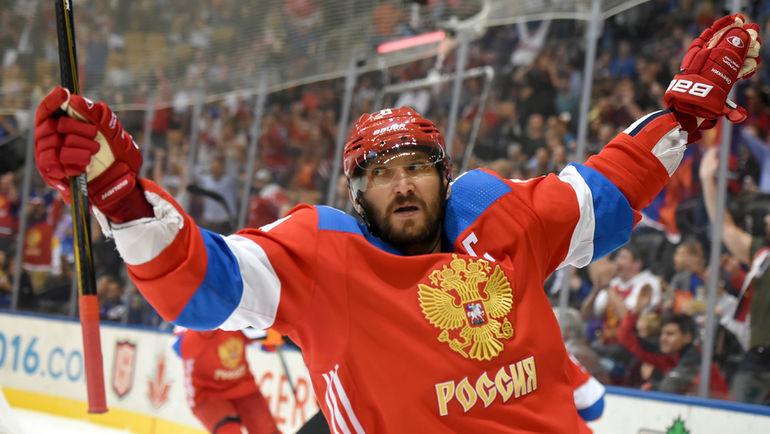 Нападающий сборной России Александр ОВЕЧКИН. Фото USA TODAY Sports