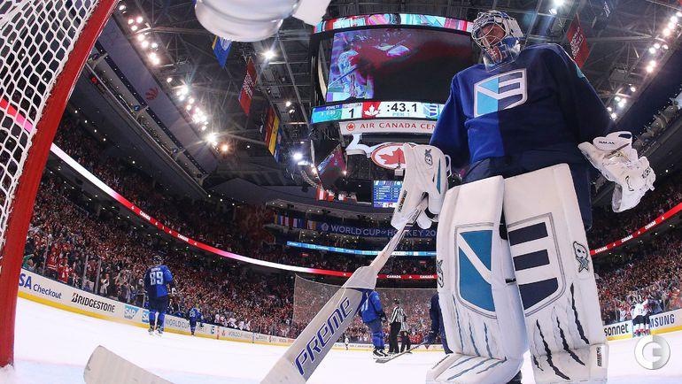 Четверг. Торонто. Европа - Канада - 1:2. Фото AFP