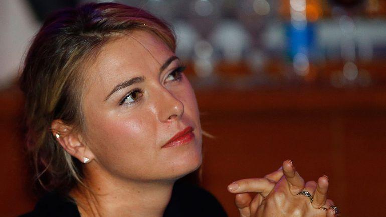 Мария ШАРАПОВА. Фото AFP