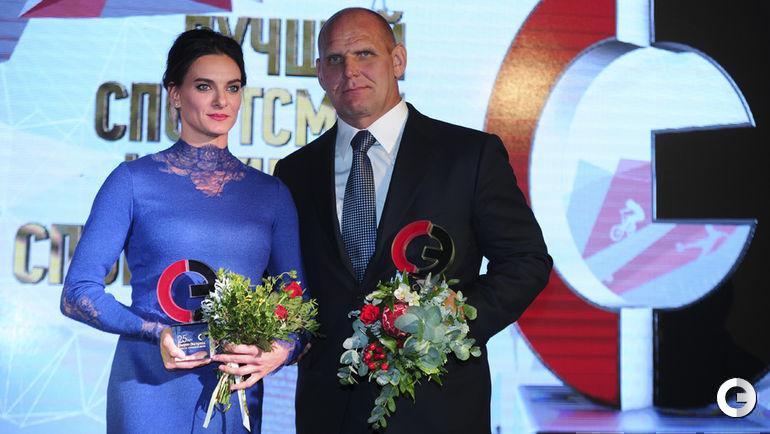 Елена ИСИНБАЕВА и Александр КАРЕЛИН.