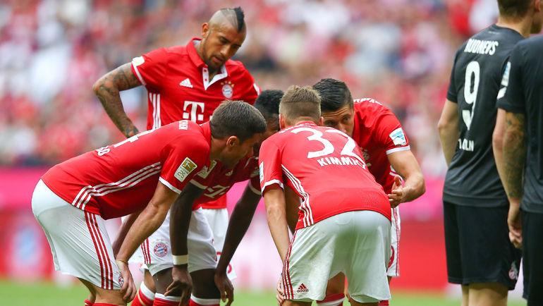 """""""Бавария"""" впервые в сезоне потеряла очки в бундеслиге. Фото AFP"""