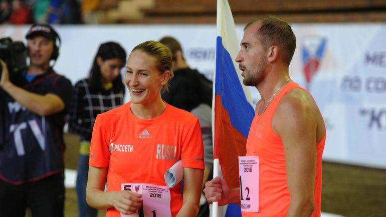 Доната РИМШАЙТЕ и Александр ЛЕСУН.