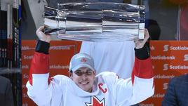 Капитан сборной Канады Сидни КРОСБИ.