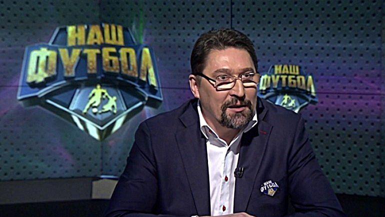 """Ведущий программы """"Свисток"""" Владислав БАТУРИН."""