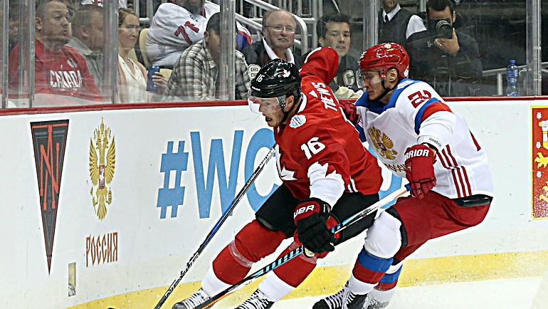 Никита ЗАЙЦЕВ (справа) и Джонатан ТЭЙВЗ. Фото USA Today