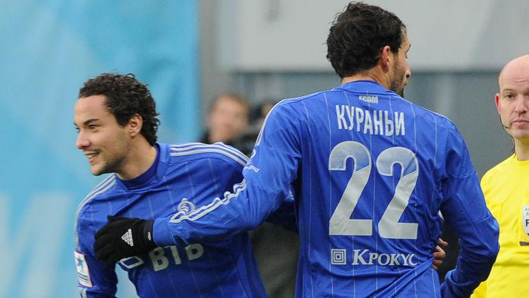 """Отман БАККАЛ (слева) и Кевин КУРАНЬИ. Фото Никита УСПЕНСКИЙ, """"СЭ"""""""