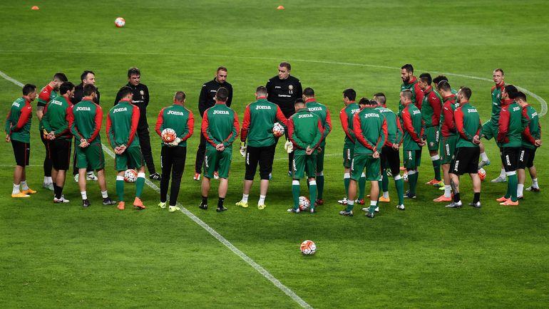 Сборная Болгарии готовится к матчу с Францией. Фото AFP