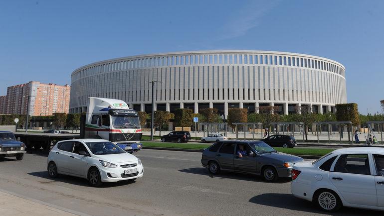 "Вид на стадион ""Краснодара"". Фото Александр ФЕДОРОВ, ""СЭ"""