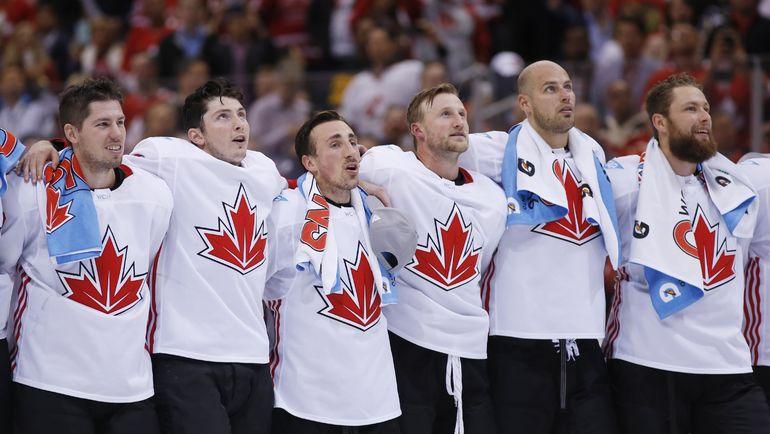 Сборная Канады - победитель Кубка мира-2016. Фото USA TODAY Sports
