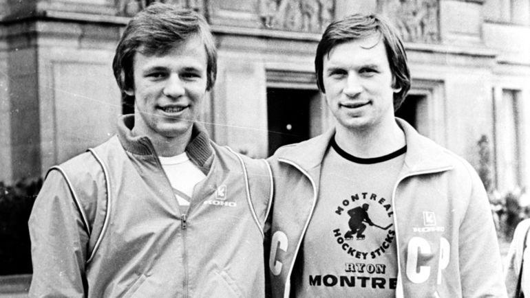Вячеслав ФЕТИСОВ (слева) и Владимир ЛУТЧЕНКО. Фото Анатолий БОЧИНИН.