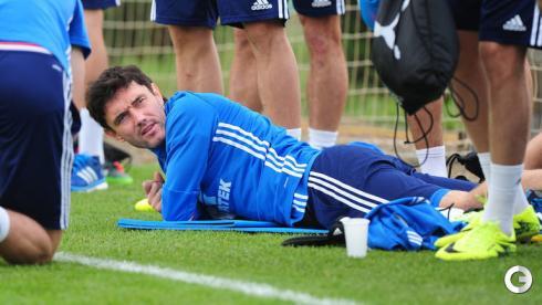 Жирков присоединился к тренировкам сборной