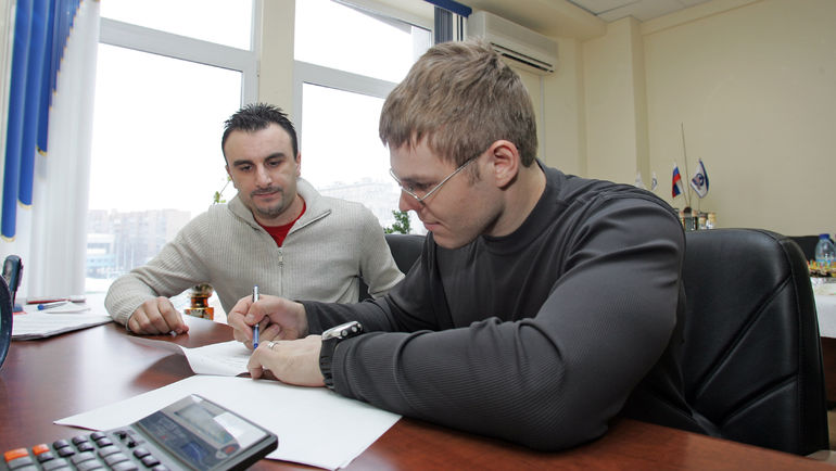Шуми БАБАЕВ и Сергей САМСОНОВ. Фото Динара КАФИСКИНА