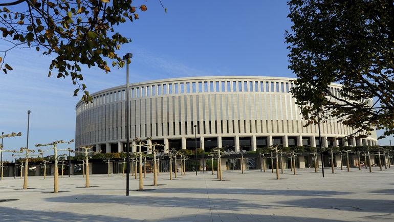 """Уже в воскресенье в России начнет жизнь еще один новый стадион. Фото Александр ФЕДОРОВ, """"СЭ"""""""