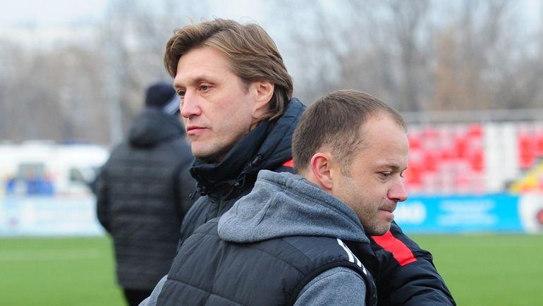 "Евгений БУШМАНОВ (слева) и Дмитрий ПАРФЕНОВ. Фото Никита УСПЕНСКИЙ, ""СЭ"""