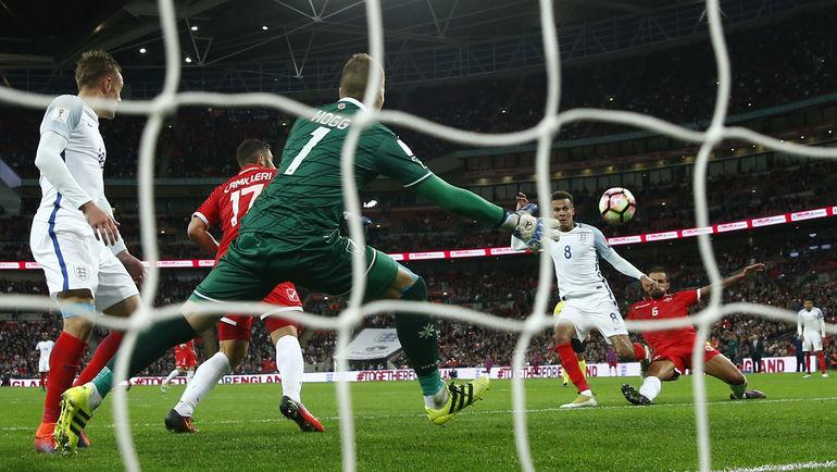 Вчера. Лондон. Англия - Мальта - 2:0. Гол Делли АЛЛИ. Фото REUTERS