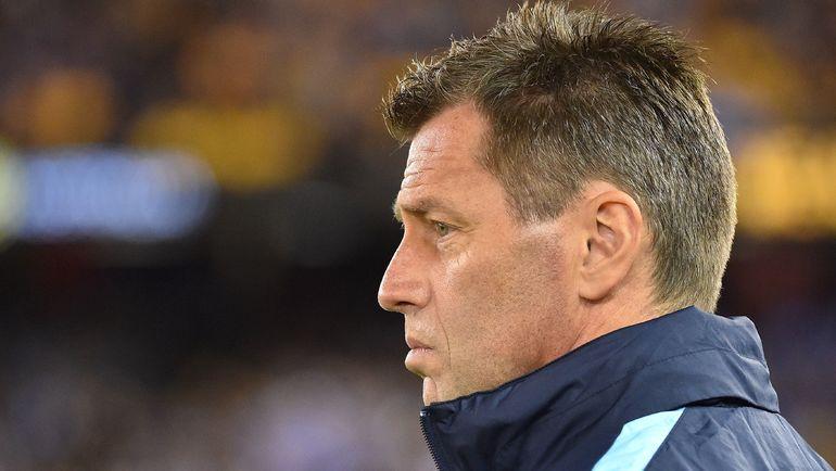 Главный тренер сборной Греции Михаэль СКИББЕ. Фото AFP