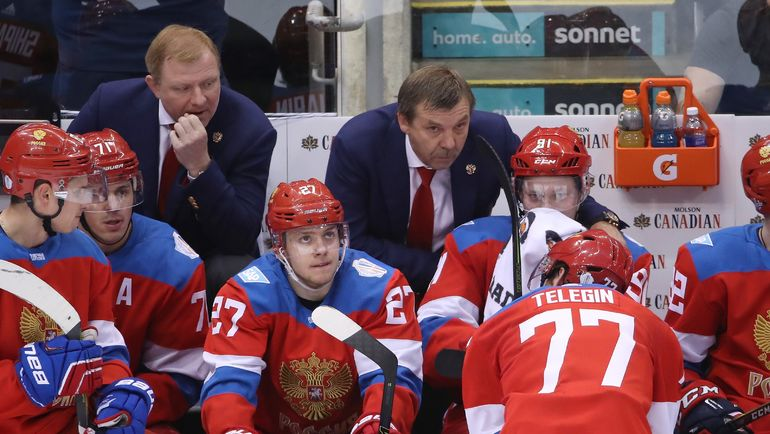 Алексей ЖАМНОВ и Олег ЗНАРОК на Кубке мира в Торонто. Фото REUTERS