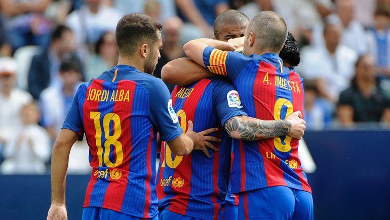 """У """"Барселоны"""" нет игрового кризиса. Фото AFP"""