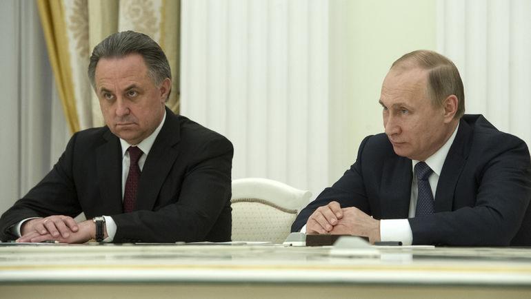 """Владимир ПУТИН и Виталий МУТКО (слева). Фото Федор УСПЕНСКИЙ, """"СЭ"""""""