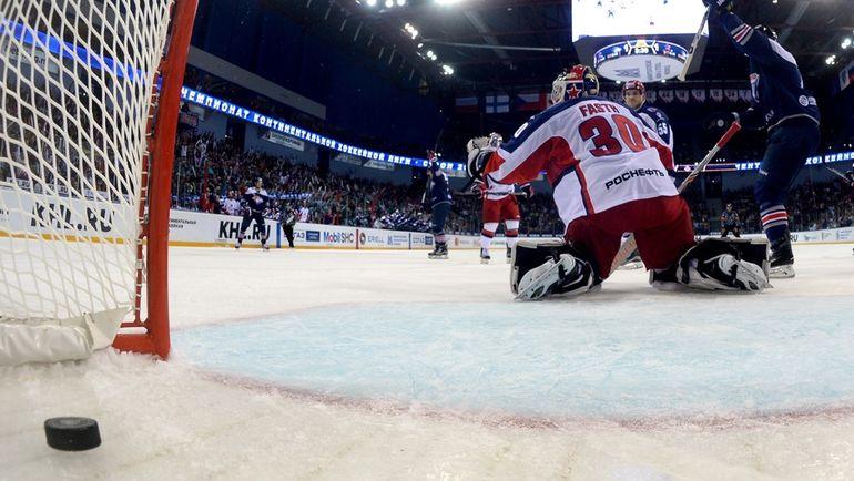 Кто забил самый красивый гол КХЛ? Фото Юрий КУЗЬМИН, photo.khl.ru