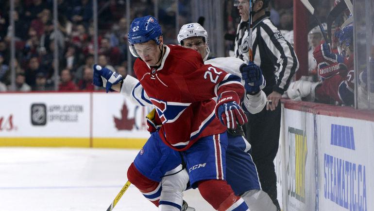 Два защитника-дебютанта НХЛ - Михаил СЕРГАЧЕВ и Никита ЗАЙЦЕВ. Фото AFP