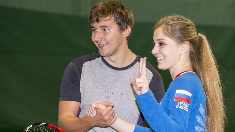 Сергей КАРЯКИН и Анна ЧАКВЕТАДЗЕ. Фото Мария ЕМЕЛЬЯНОВА