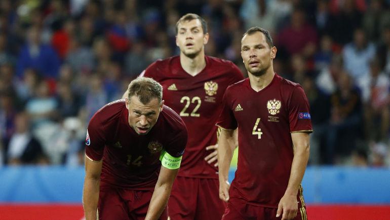 Неудачи на Euro-2016 и поражение от команды Коста-Рики повлекли за собой падение сборной России в рейтинге ФИФА. Фото REUTERS