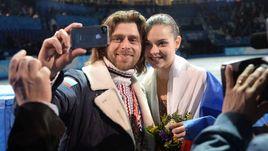 Олимпийская чемпионка Сочи Аделина СОТНИКОВА и Петр ЧЕРНЫШЕВ.