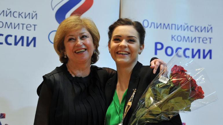 """Аделина СОТНИКОВА (справа) и Елена БУЯНОВА. Фото Александр ФЕДОРОВ, """"СЭ"""""""