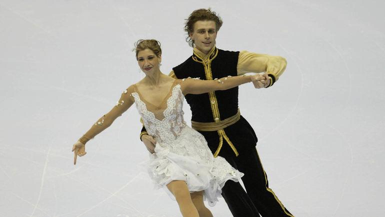 Наоми ЛАНГ и Петр ЧЕРНЫШЕВ. Фото AFP