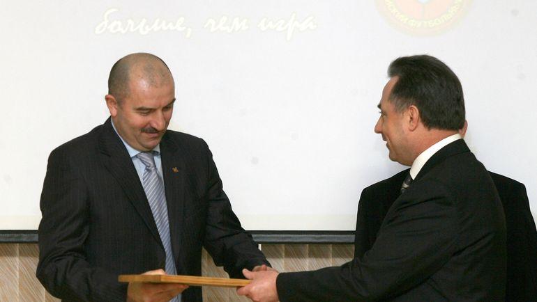 Виталий МУТКО и Станислав ЧЕРЧЕСОВ. Фото Татьяна ДОРОГУТИНА