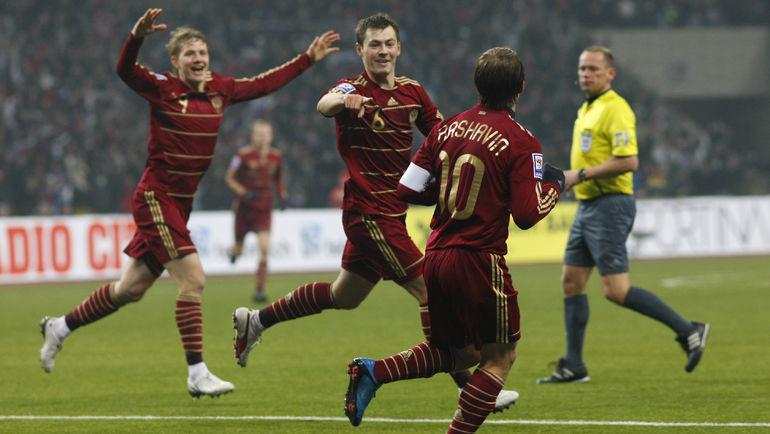 Кажется, совсем недавно Россия была в десятке рейтинга ФИФА. Фото Александр ВИЛЬФ