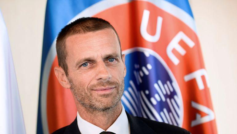 Глава УЕФА Александер ЧЕФЕРИН. Фото AFP