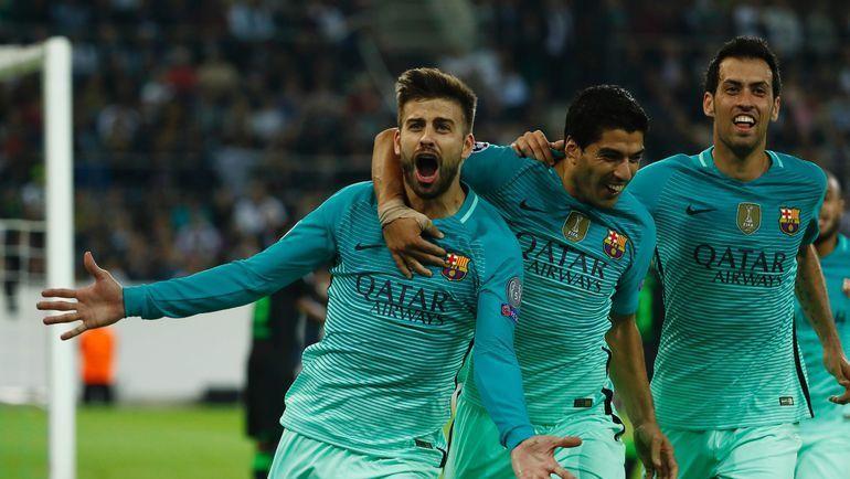 """""""Барселона"""" – """"Депортиво"""". Фото AFP"""