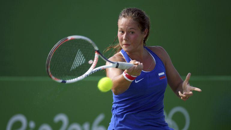 Дарья КАСАТКИНА на Олимпиаде в Рио-де-Жанейро. Фото AFP