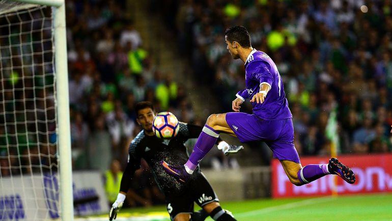 """Суббота. Севилья. """"Бетис"""" - """"Реал"""" - 1:6. В атаке КРИШТИАНУ РОНАЛДУ. Фото AFP"""