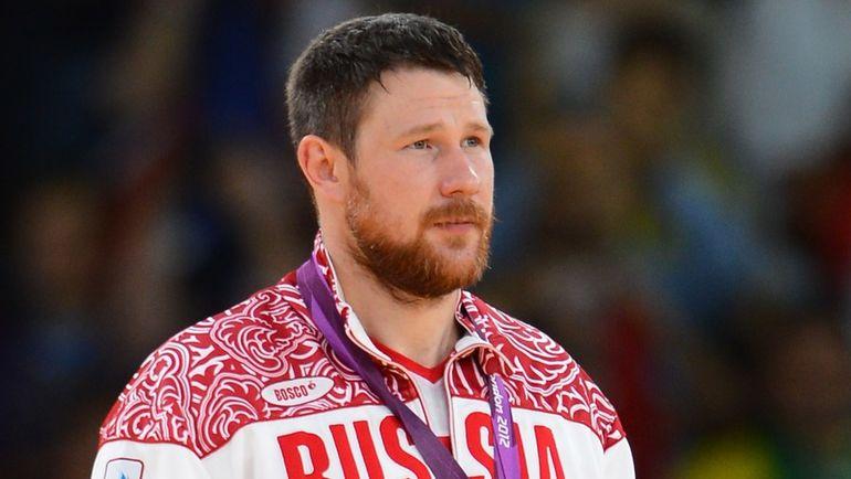 28 июля 2012 года. Лондон. Александр МИХАЙЛИН – серебряный призер Олимпиады-2012. Фото AFP