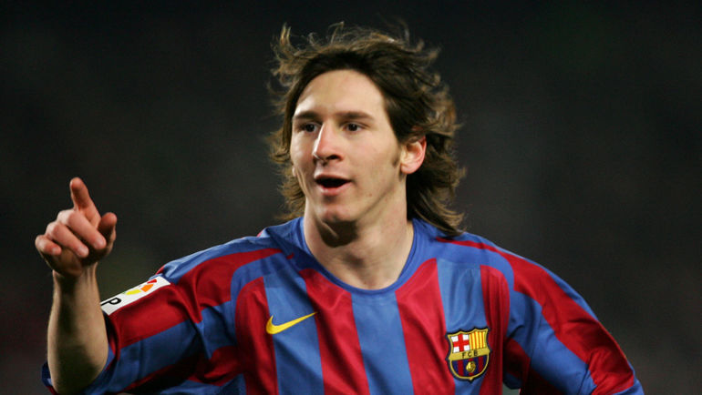 Лионель МЕССИ в 2006 года выиграл Лигу чемпионов в первый раз. Фото AFP